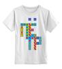 """Детская футболка классическая унисекс """"Пётр  """" - арт, в подарок, детская футболка"""