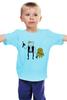 """Детская футболка классическая унисекс """"Star Wars Time"""" - star wars, adventure time, время приключений, с финном и джейком"""