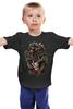 """Детская футболка классическая унисекс """"День Мёртвых"""" - skull, череп, день мёртвых, día de los muertos"""