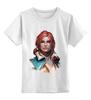 """Детская футболка классическая унисекс """"Трисс Меригольд"""" - ведьмак, witcher, the witcher, трисс меригольд"""
