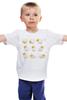 """Детская футболка """"""""Пост попугай""""  """" - арт, cute, yellow, bird, parrot"""