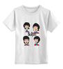 """Детская футболка классическая унисекс """"Битлз (The Beatles)"""" - the beatles, битлы, битлз"""