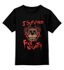 """Детская футболка классическая унисекс """"Пять ночей у Фредди (Five Nights at Freddy's)"""" - пять ночей у фредди, выживание в кошмаре, five nights at freddy's"""
