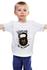 "Детская футболка ""Школота"" - юмор, приколы, fitness, stay strong, kettlebell, гиря"