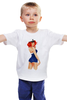 "Детская футболка ""Пин-ап гёрл"" - пинап, pin up, pin-up, sailor, морячка"