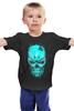 """Детская футболка классическая унисекс """"Терминатор"""" - фантастика, шварценеггер, терминатор, the terminator"""