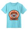 "Детская футболка классическая унисекс ""Тигры"" - тигр, поло, тигры, плавание, water polo, водное поло, плаванье, водное, tigers"