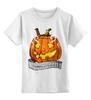 """Детская футболка классическая унисекс """"Helloween"""" - хэллоуин, helloween"""