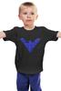 """Детская футболка """"Найтвинг (Nightwing)"""" - dc comics, найтвинг, nightwing"""