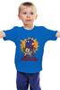 "Детская футболка ""Doctor Adventure Time"" - doctor who, adventure time, время приключений, доктор кто, finn & jake"