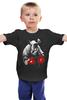 "Детская футболка классическая унисекс ""Носорог Боксёр"" - спорт, бокс, боксёр, носорог"