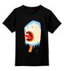 """Детская футболка классическая унисекс """"Мороженное - icecream                    """" - ice cream, мороженное"""