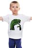 """Детская футболка классическая унисекс """"Raptor"""" - мемы"""
