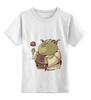 """Детская футболка классическая унисекс """"Fat Yoda"""" - star wars, yoda, звездные войны, йода, обжорство"""
