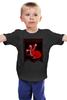 """Детская футболка классическая унисекс """"Дом таргариенов"""" - игра престолов, game of thrones, fire and blood, дом таргариенов, пламя и кровь"""
