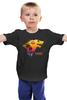 """Детская футболка классическая унисекс """"Лето Близко"""" - пародия, игра престолов, старки, game of thrones, лютоволк"""