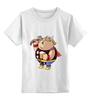 """Детская футболка классическая унисекс """"Fat Thor"""" - тор, thor, обжорство"""