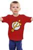 """Детская футболка классическая унисекс """"Flashка"""" - flash, пародия, молния, флэш"""