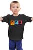 "Детская футболка классическая унисекс ""Robin, Nightwing and Batman"" - comics, комикс, batman, мульт, бэтмен, dc, robin"