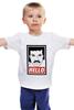"""Детская футболка классическая унисекс """"Лайонел Ричи"""" - hello, obey, лайонел ричи, lionel richie"""