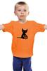 """Детская футболка """"""""HALLOWEEN"""""""" - праздник, кошка, хэллоуин, осень, тыква, октябрь"""