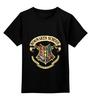 """Детская футболка классическая унисекс """"Хогвартс"""" - harry potter, гарри поттер, hogwarts"""