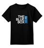 """Детская футболка классическая унисекс """"Тардис (Доктор Кто)"""" - tardis, доктор кто, тардис, doctor who"""
