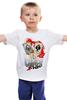 """Детская футболка классическая унисекс """"Звезда покера"""" - череп, арт, авторские майки, жизнь, карты, скелет, покер, стрит, зеро, очко"""