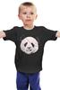 "Детская футболка классическая унисекс ""Панда Пират"" - bear, медведь, панда, panda, пират"