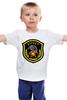 """Детская футболка классическая унисекс """"Беркут"""" - эмблема, символика, беркут"""