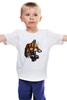 """Детская футболка классическая унисекс """"лиса"""" - лиса"""