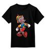 """Детская футболка классическая унисекс """"Альтрон Пиноккио"""" - пиноккио, альтрон, ultron"""