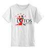 """Детская футболка классическая унисекс """"Lotos bag"""" - тск лотос, тск"""