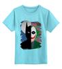 """Детская футболка классическая унисекс """"Темный рыцарь. """" - batman, джокер, бэтмен, темный рыцарь, dc комиксы"""