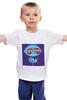 """Детская футболка классическая унисекс """"Стьюи Гриффин"""" - диджей, стьюи, family guy, гриффины, стьюи гриффин"""