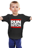 "Детская футболка ""Run Bitch"" - хип-хоп, run dmc, run bitch"