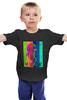 """Детская футболка классическая унисекс """"Не болтай!"""" - мода, политика, свобода, лгбт, не болтай"""