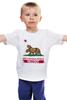 """Детская футболка """"Fallout"""" - games, игры, медведь, rpg, геймер, california, калифорния, fallout, action, new california republic"""