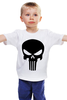 """Детская футболка классическая унисекс """"Каратель"""" - череп, punisher, каратель"""