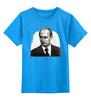 """Детская футболка классическая унисекс """"Putin"""" - россия, путин, президент, putin, president"""