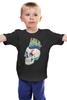 """Детская футболка классическая унисекс """"Череп Панка"""" - skull, череп, рок, punk, панк"""