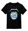 """Детская футболка классическая унисекс """"Metallica"""" - heavy metal, metallica, трэш, металлика, хэви метал"""