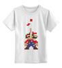 "Детская футболка классическая унисекс ""Марио (Тетрис)"" - mario, tetris, тетрис"