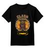 """Детская футболка классическая унисекс """"Столкновение кланов (Clash of Сlans)"""" - столкновение кланов, clash of сlans"""