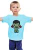 """Детская футболка классическая унисекс """"Мэнни Пакьяо (Pacman)"""" - pacman, manny pacquiao, мэнни пакьяо"""