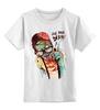 """Детская футболка классическая унисекс """"Clever Zombie"""" - приколы, zombie, зомби"""