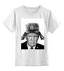 """Детская футболка классическая унисекс """"TRUMP by K.Karavaev"""" - usa, russia, karavaev, donald, trump"""