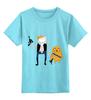 "Детская футболка классическая унисекс ""Star Wars Time"" - star wars, adventure time, время приключений, хан соло, finn & jake"