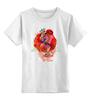 """Детская футболка классическая унисекс """"It's UK"""" - крылья, корона, лондон, англия, герб, британия, алый, uk, соединенное королевство, фламинго"""
