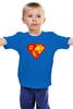 """Детская футболка классическая унисекс """"Суперженщина"""" - супермен, супервумен, русская женщина"""